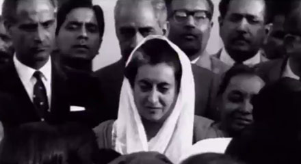 Indira Gandhi -  the New Face of Indian Revolution