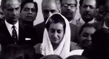 Indira Gandhi -  the New Face of Indian Revolution