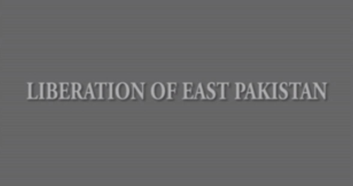 Liberation of East Pakistan