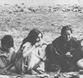 At a picnic Santiniketan 1934-35