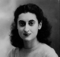 Indira Priyadarshini Nehru passport photo