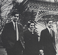 Rajiv and Sanjay, Paris, March, 1966