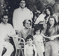 Sanjay, Rajiv, Maneka, Sonia, Priyanka and Rahul
